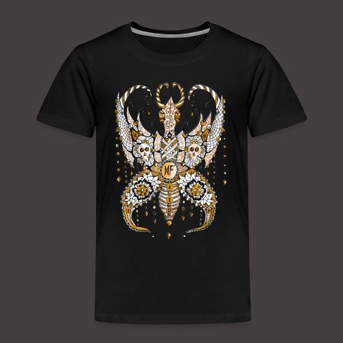 Papillon Lilou Dore - T-shirt Premium Enfant