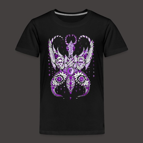 Papillon Lilou Violet - T-shirt Premium Enfant