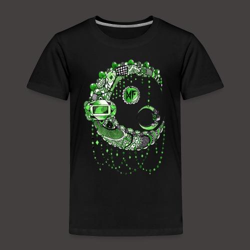 Lune dentelle Verte - T-shirt Premium Enfant