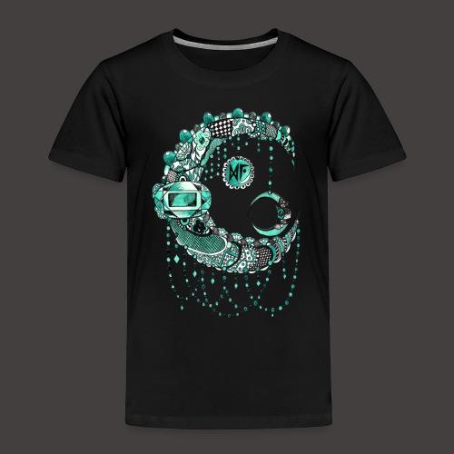Lune dentelle Turquoise - T-shirt Premium Enfant