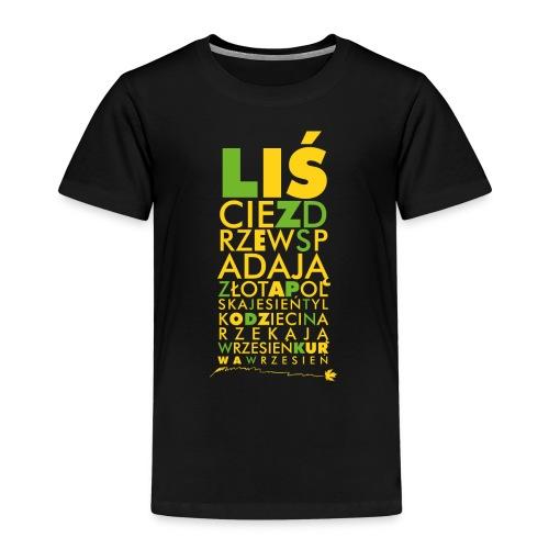 Wrzesień - Koszulka dziecięca Premium