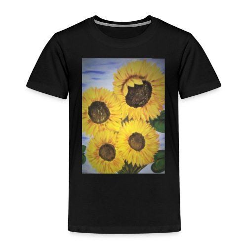 SonnenblumeIMG 20180815 090758 - Kinder Premium T-Shirt