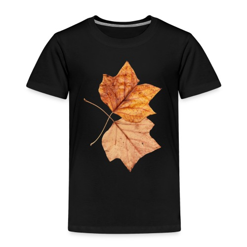 Blätter - Kinder Premium T-Shirt