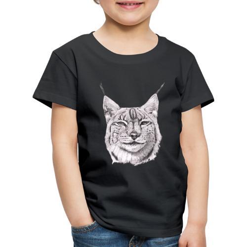 lynx - Børne premium T-shirt