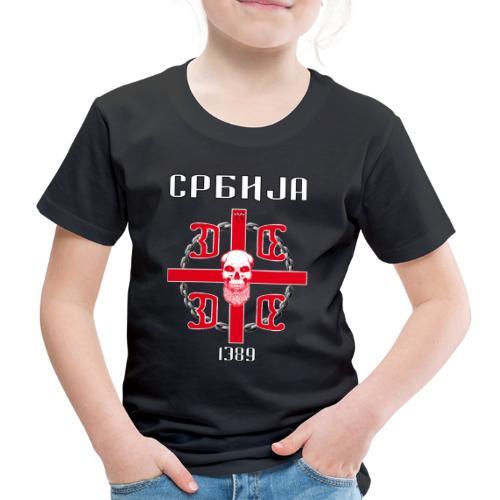 SRBIJA POWER - Kinder Premium T-Shirt