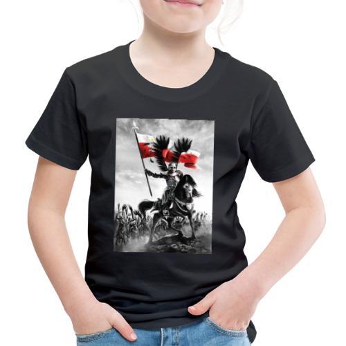 husaz na koniu - Koszulka dziecięca Premium