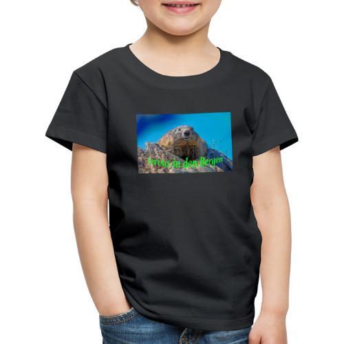 Servus in den Bergen - Kinder Premium T-Shirt