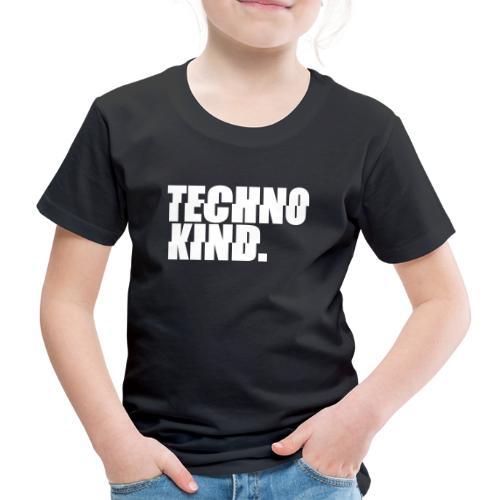 Techno Kind Rave Kultur Berlin Vinyl Progressive - Kinder Premium T-Shirt