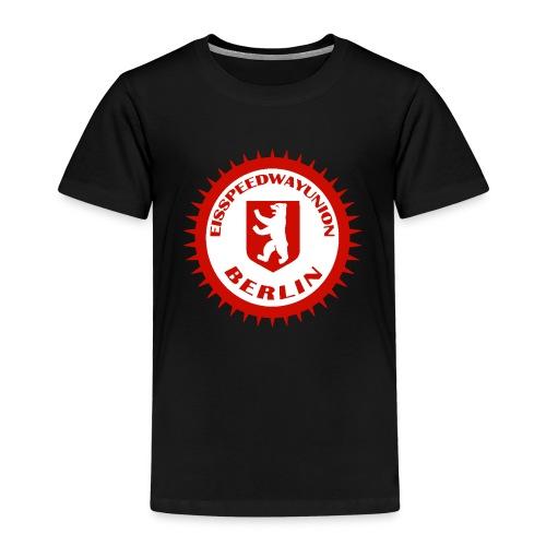 Logo in Rot Weiß - Kinder Premium T-Shirt