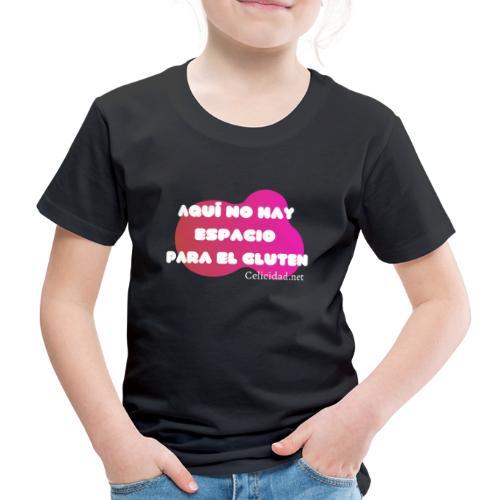Aquí no hay espacio para el gluten - Camiseta premium niño