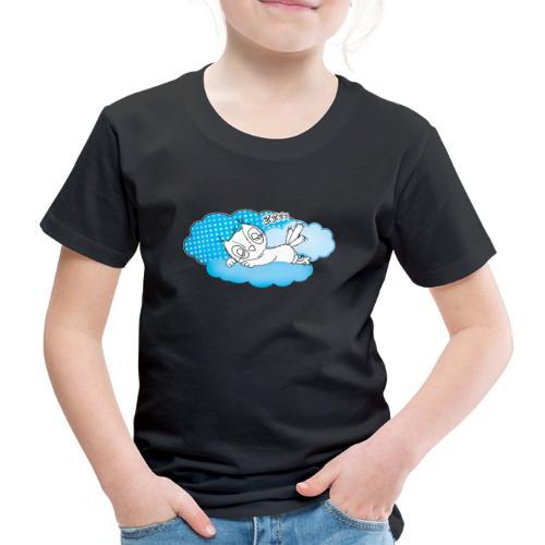 schlafende Eule Zzzz - Kinder Premium T-Shirt