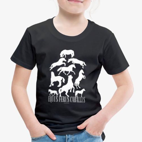 Equus Ferus Caballus - Lasten premium t-paita