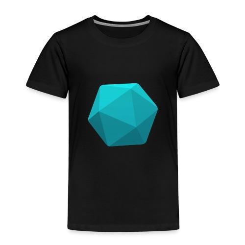 Blue d20 - Kids' Premium T-Shirt