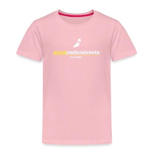 Accatredicietrenta young fondo nero - Maglietta Premium per bambini