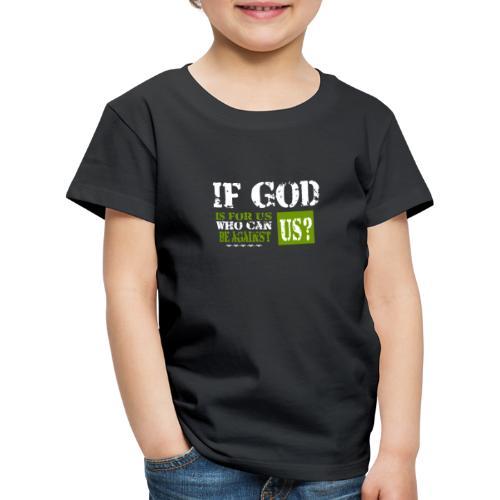 Gott T-Shirt Jesus Christliche Bibelverse Bibel - Kinder Premium T-Shirt