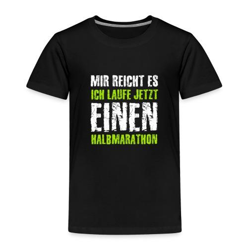 Halbmarathon Marathon Triathlon Joggen Sprint - Kinder Premium T-Shirt