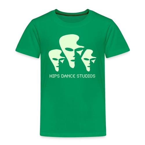 Space_sort_hvid - Børne premium T-shirt