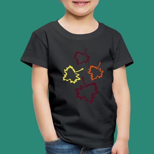 Herbstblätter 2 - Kinder Premium T-Shirt