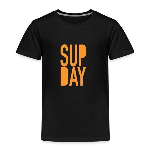 supday_apparel_orange - Kinderen Premium T-shirt