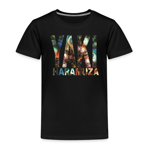 YAKI HARAMUZA BASIC HERR - Premium-T-shirt barn