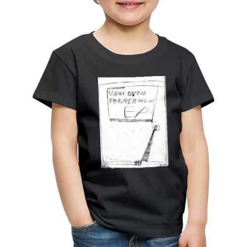 unbequem fernsehen - Kids' Premium T-Shirt