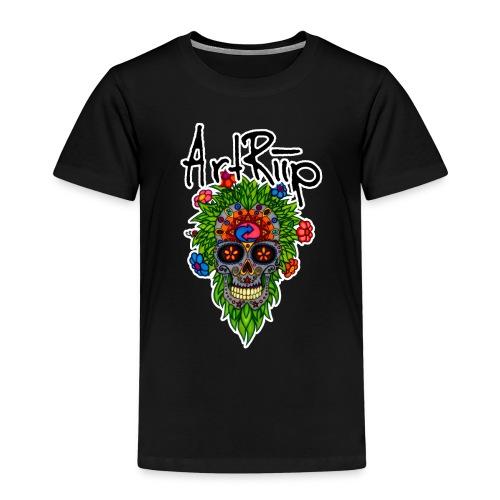 ArtRiipSkull - Kinder Premium T-Shirt