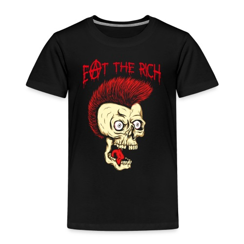 Eat The Rich (For Dark Shirts) - Kinder Premium T-Shirt