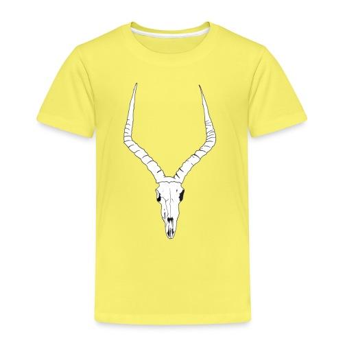 Antelope ANIMAL skull - Kids' Premium T-Shirt