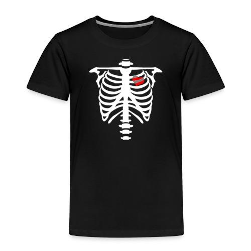 skull heart - T-shirt Premium Enfant