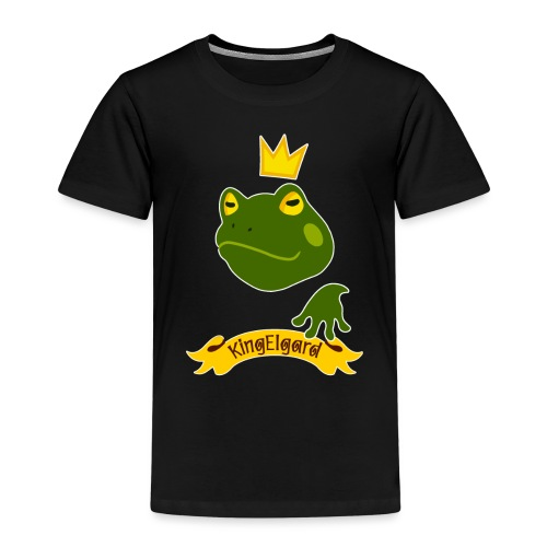 KingElgard - Maglietta Premium per bambini