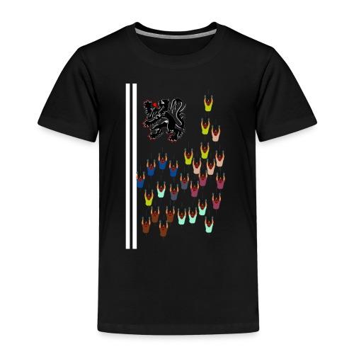 Flandern Vlaanderen - Kinder Premium T-Shirt