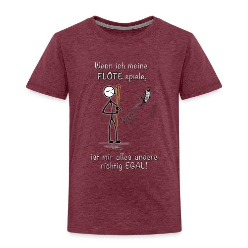 Recorder Love f. dark colours - Kids' Premium T-Shirt