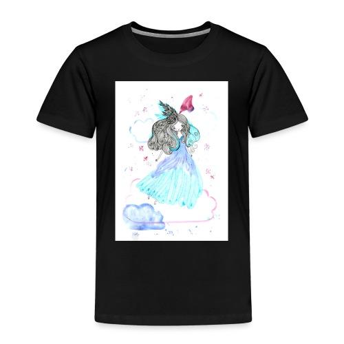 fille nuage - T-shirt Premium Enfant