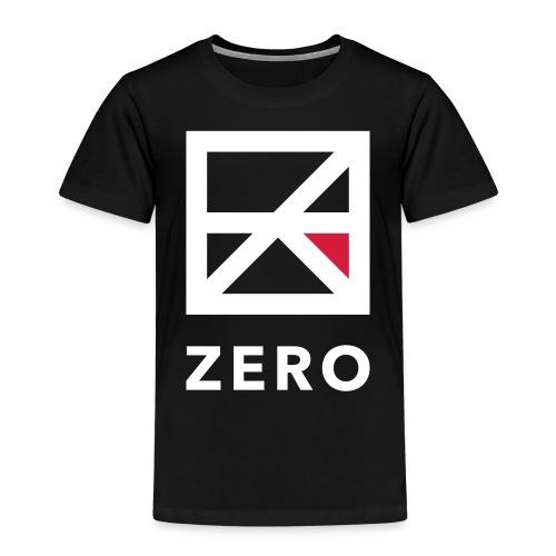 Zero logo wit cmyk - Kinderen Premium T-shirt