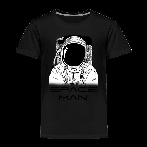 Space man black - Kids' Premium T-Shirt
