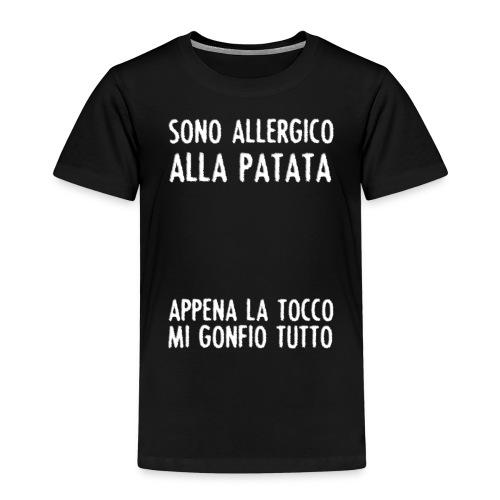 Patata - Maglietta Premium per bambini