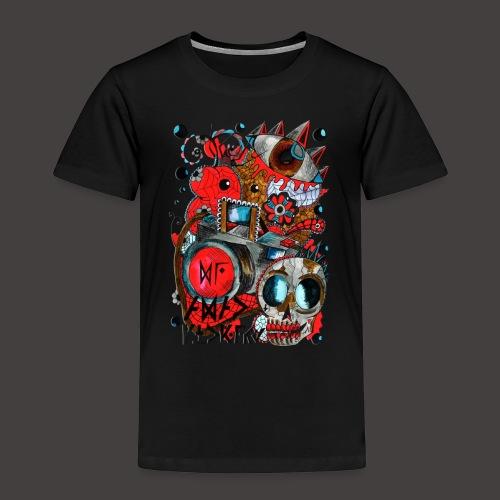 AGAC Picture Rouge et Bleu - T-shirt Premium Enfant