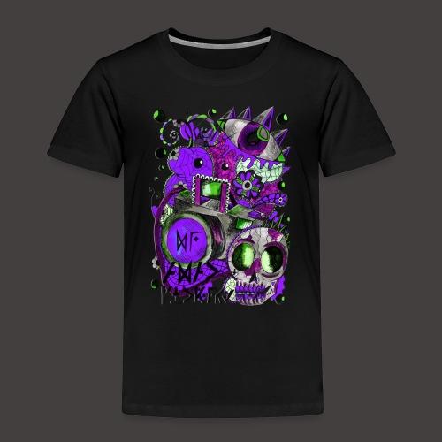 AGAC Picture Vert et Violet - T-shirt Premium Enfant