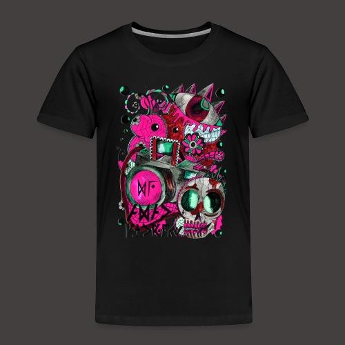 AGAC Picture Bleu et Rose - T-shirt Premium Enfant
