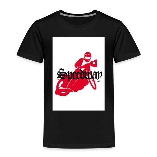 speedway red bike - Kids' Premium T-Shirt