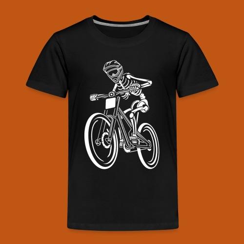 BMX / Mountain Biker 04_weiß - Kinder Premium T-Shirt