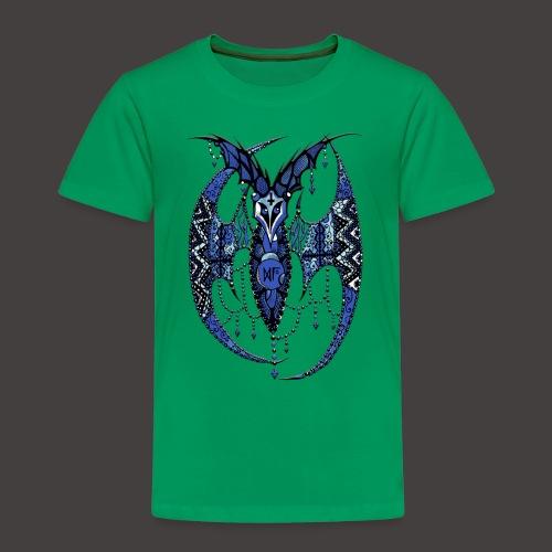 Chauve Souris Dentelle Bleue - T-shirt Premium Enfant