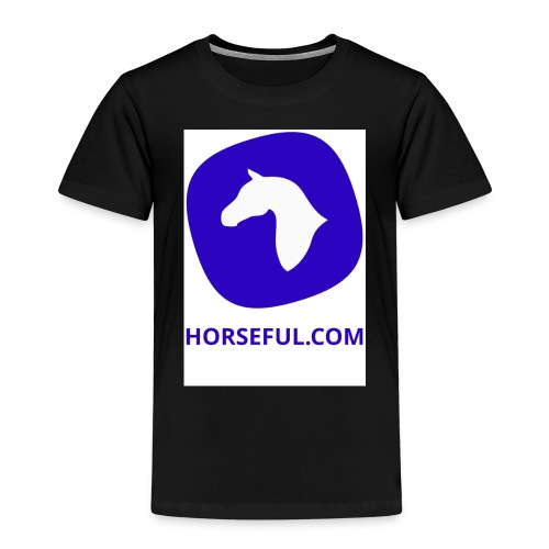 Horseful.com - Logo - Kinder Premium T-Shirt