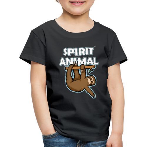 Spirit Animal Sloth - Kids' Premium T-Shirt