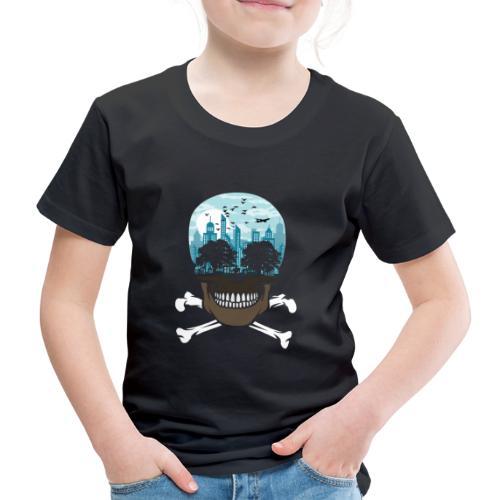 Death City tshirt ✅ - Kinder Premium T-Shirt