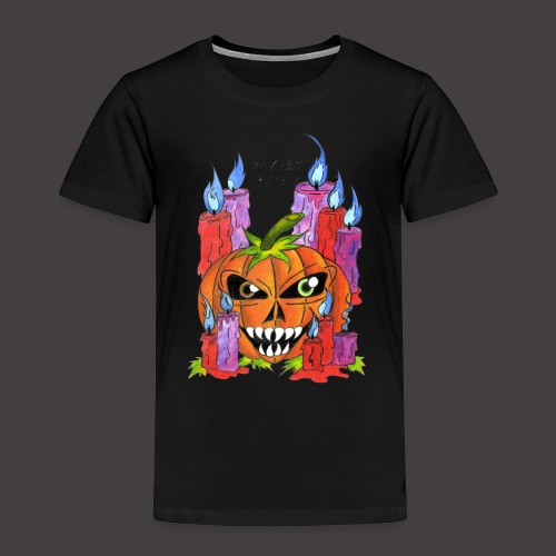 CANDLE PUMPKIN - T-shirt Premium Enfant