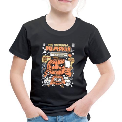 The Incredible Pumpkin 19 1 - Kinder Premium T-Shirt