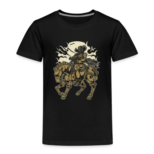 Steam Punk Cowboy - Kinder Premium T-Shirt
