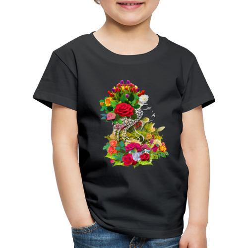 Lady flower - T-shirt Premium Enfant