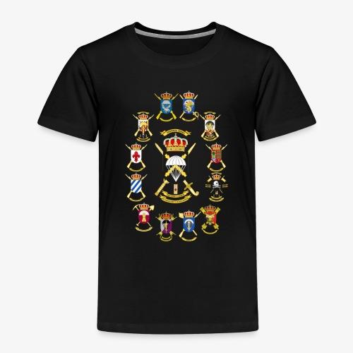 UNIDADES BRIPAC - Camiseta premium niño